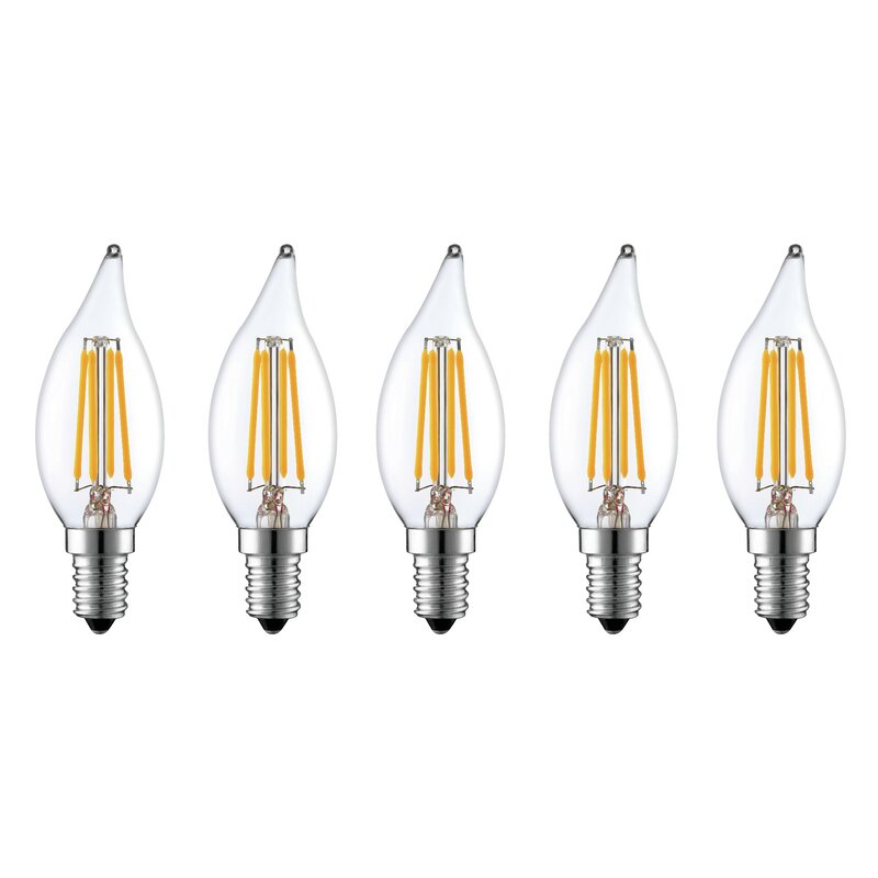 2W E12 Dimmable LED Light Bulb Frosted