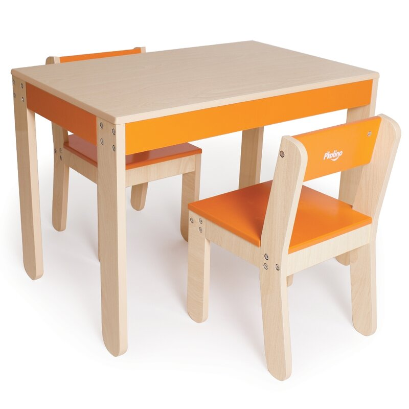 Little Oneu0027s Kids 3 Piece Table ...