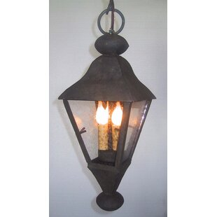 Laura Lee Designs La Jolla 3-Light Outdoor Hanging Lantern