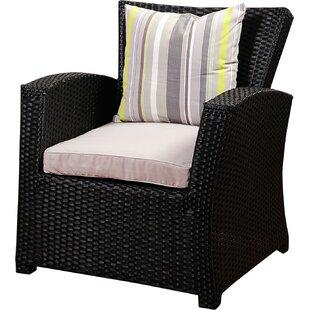 Valetta Armchair with Cushion (Set of 2)