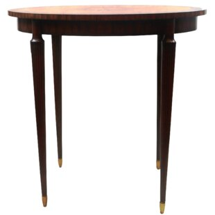Mahogany Oval Occasional End Table