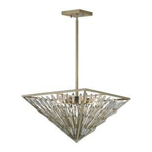Rosdorf Park Gillian 6-Light Bowl Pendant