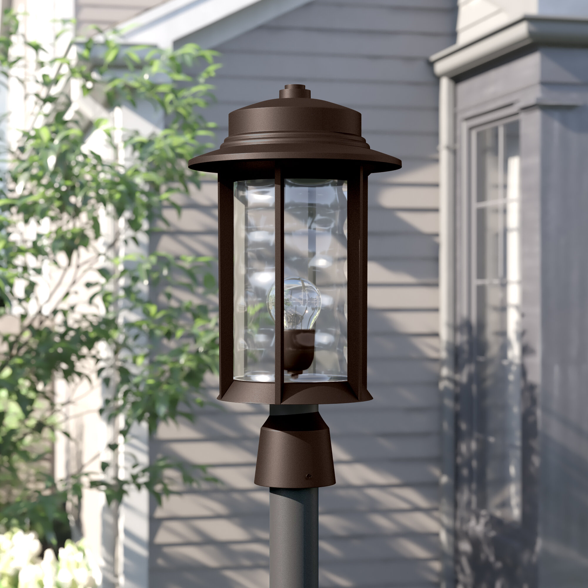 Three Posts Osmond Outdoor 1 Light Lantern Head Wayfair