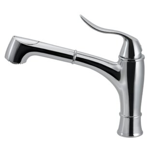 Houzer Surge Pull Out Single Handle Kitchen Faucet