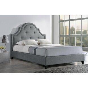 Teri Upholstered Platform Bed By Fleur De Lis Living