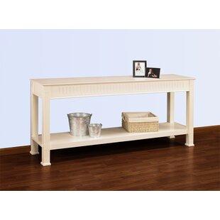 A&E Wood Designs Hampton Console Table