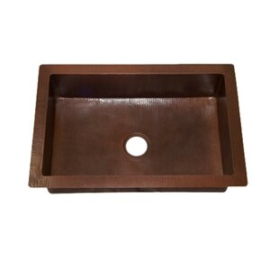 Cheap Copper Kitchen Sinks Copper drop in kitchen sinks youll love wayfair save to idea board workwithnaturefo
