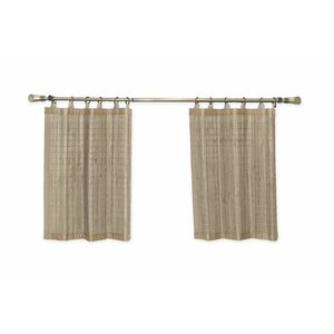 Pelico Bamboo Ring Top Tier Curtain (Set of 2)