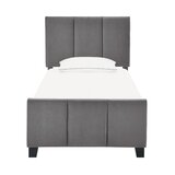 Upholstered Low Profile Standard Bed by Latitude Run®