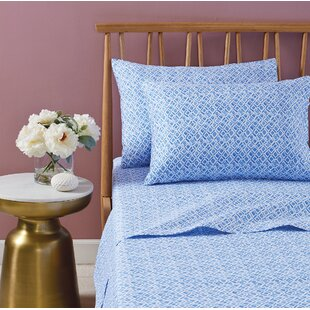bluebellgray Abella 230 Thread Count 100% Cotton Sheet Set