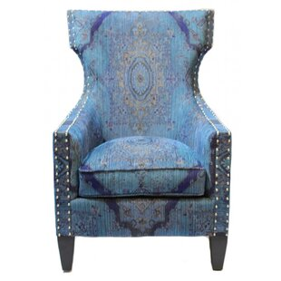 Bungalow Rose Darrell Wing back Chair