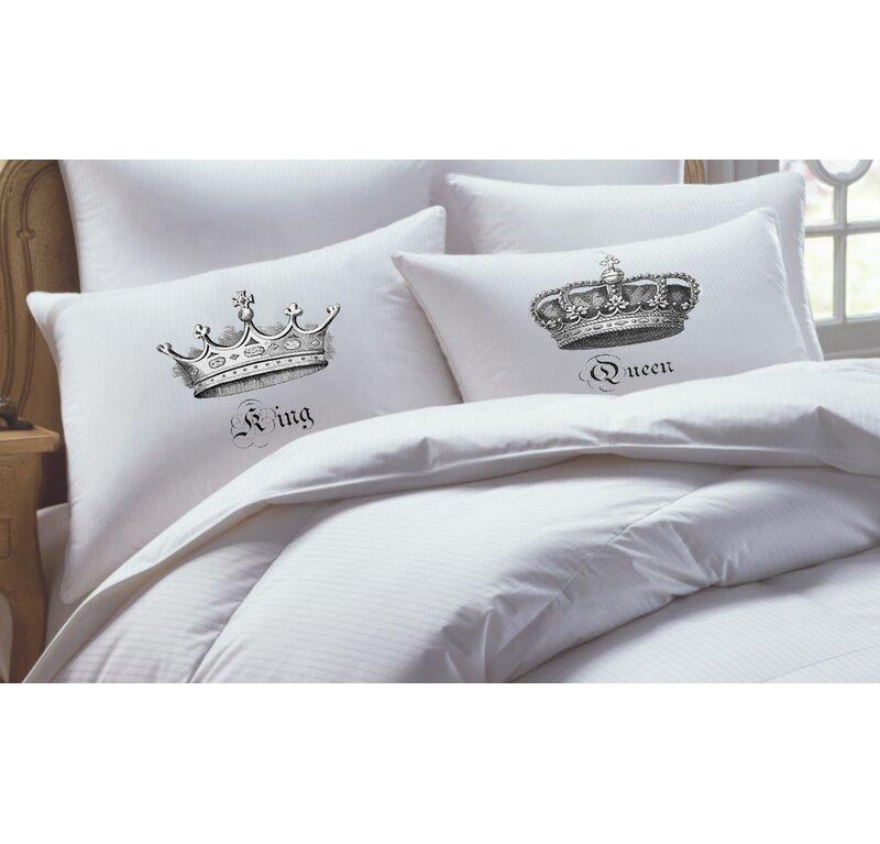 1800 Pillow Case Set standard Queen Set of 2 Pillow Cases Hot or King