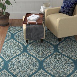 Ashleigh Baja Blue Indoor/Outdoor Area Rug