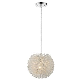Simonsen 1-Light Pendant by Orren Ellis