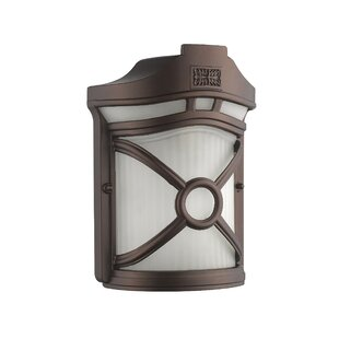 Price Check Ford 1-Light Outdoor Flush Mount By Ebern Designs