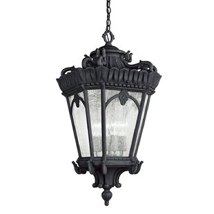 Buy luxury Guzzi 4-Light Outdoor Hanging Lantern By Fleur De Lis Living