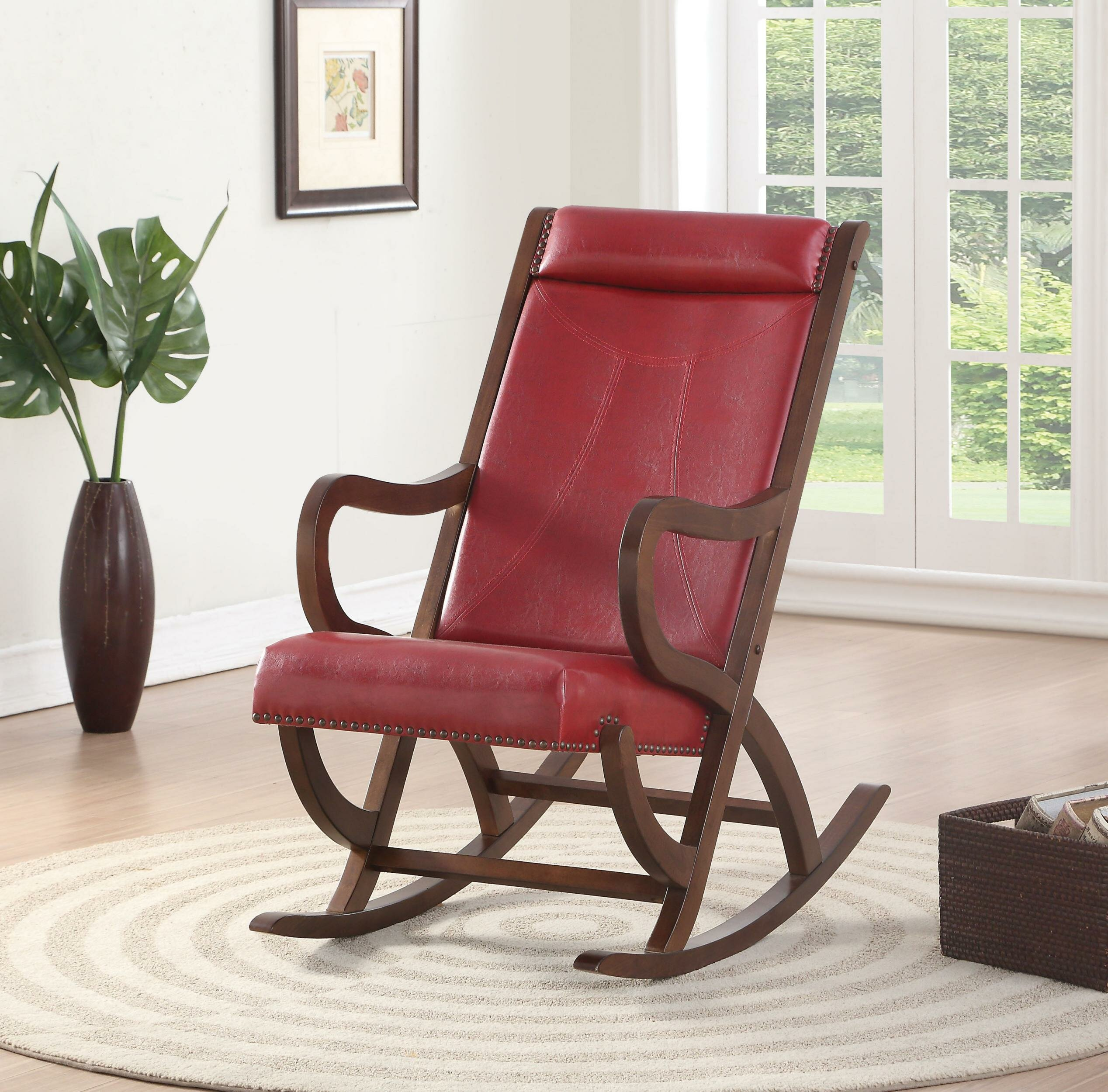 Miraculous Jadon Rocking Chair Ncnpc Chair Design For Home Ncnpcorg