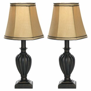Big Save Round Bell Mini 16 Table Lamp (Set of 2) By Safavieh
