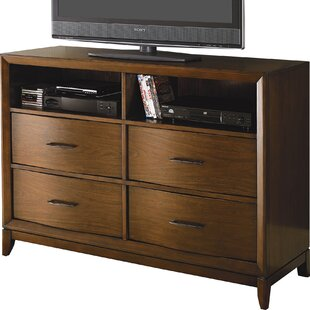 Check Prices Chiu 4 Drawer Media Chest by Winston Porter