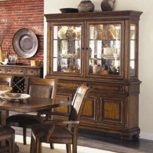Darby Home Co Rangel Wood China Cabinet