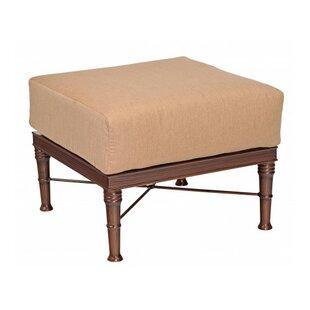 Woodard Arkadia Ottoman with Cushion