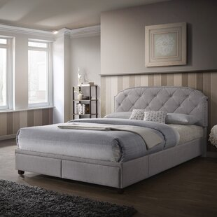 Price comparison USB Charging Queen Upholstered Storage Platform Bed by PRI Reviews (2019) & Buyer's Guide