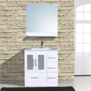 Alva 30″ Single Bathroom Vanity with Mirror