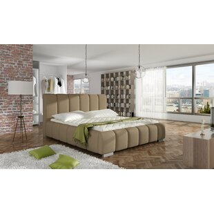 Soma Upholstered Platform Bed with Mattress