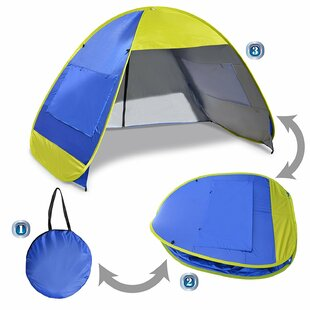Sunrise Outdoor LTD Instant Pop Up Beach Tent Portable Canopy Sports Sun Shade Outdoor Hiking Travel Camping Napping 4 Person Shelter