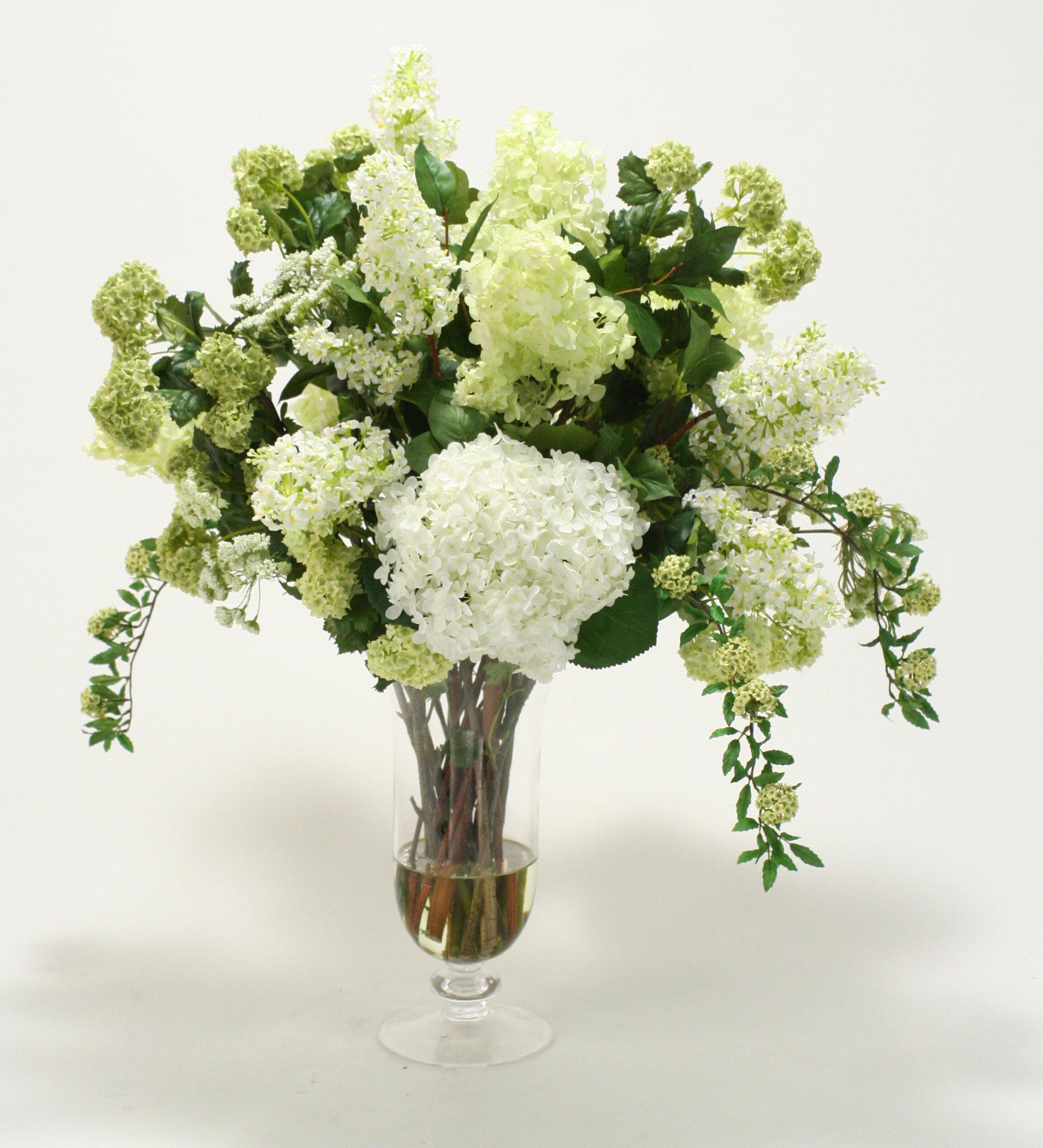 Distinctive Designs Waterlook Silk Floral Arrangement Mix With
