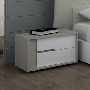 Solo 2 Drawer Nightstand by Creative Furniture