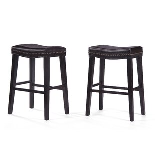 Compare prices Reyes 30 Bar Stool (Set of 2) by Darby Home Co Reviews (2019) & Buyer's Guide