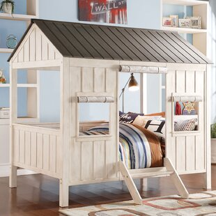 Mel Cottage Full Bunk Bed by Harriet Bee Best #1