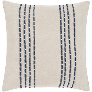 Leann Texture Cotton Throw Pillow Cover