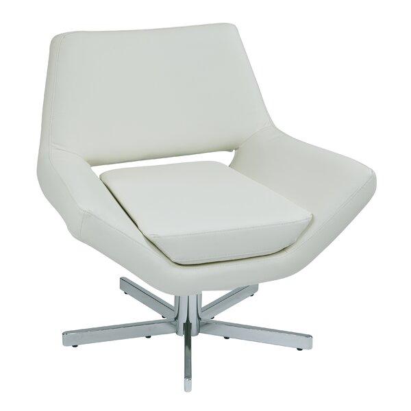 Awesome Modern Contemporary Modern White Swivel Chair Allmodern Alphanode Cool Chair Designs And Ideas Alphanodeonline