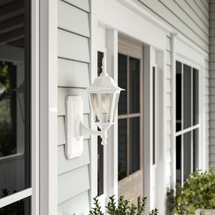Oakhill 1 Light Outdoor Wall Lantern by Charlton Home