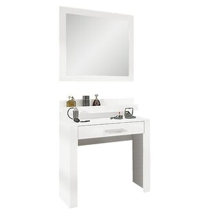 Solo Dressing Table With Mirror (Set Of 2) By Selsey Living