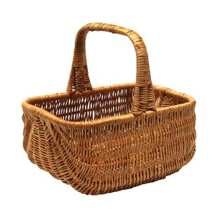 Traditional Willow Basket By Brambly Cottage