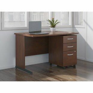 Review Series C Elite 2 Piece Desk Office Suite by Bush Business Furniture