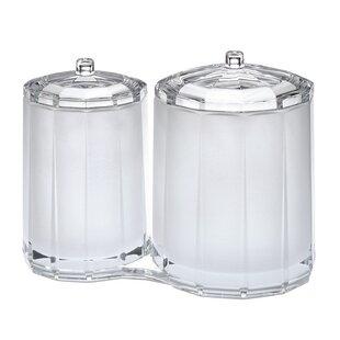 Chenco Inc. Faceted Cotton Swab Storage Jar