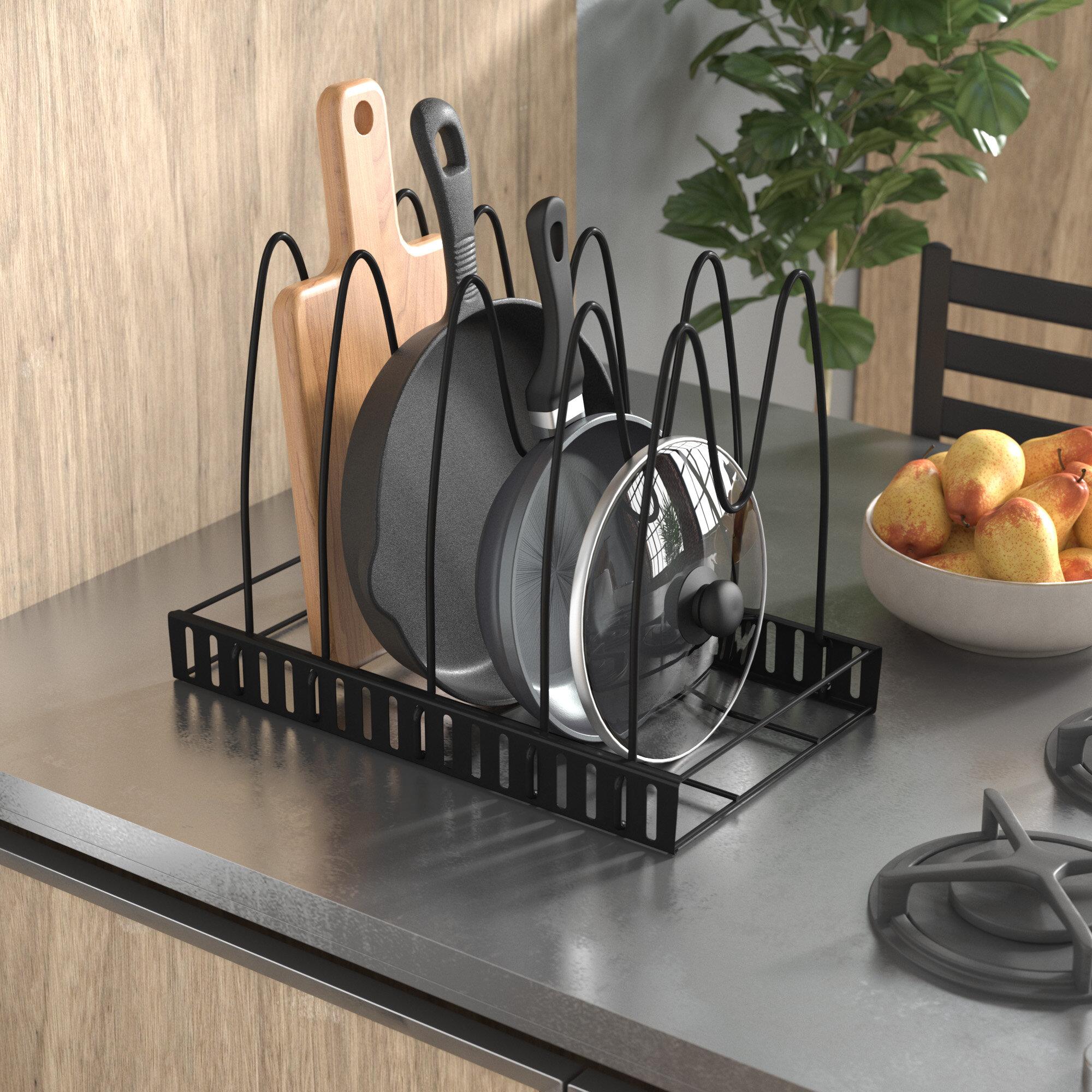 rack pin kitchenreno and mounted pots pans storage pot pan wall diy kitchen mount