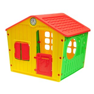 Affordable Galilee Village 3.54' x 4.6' Playhouse By Starplay