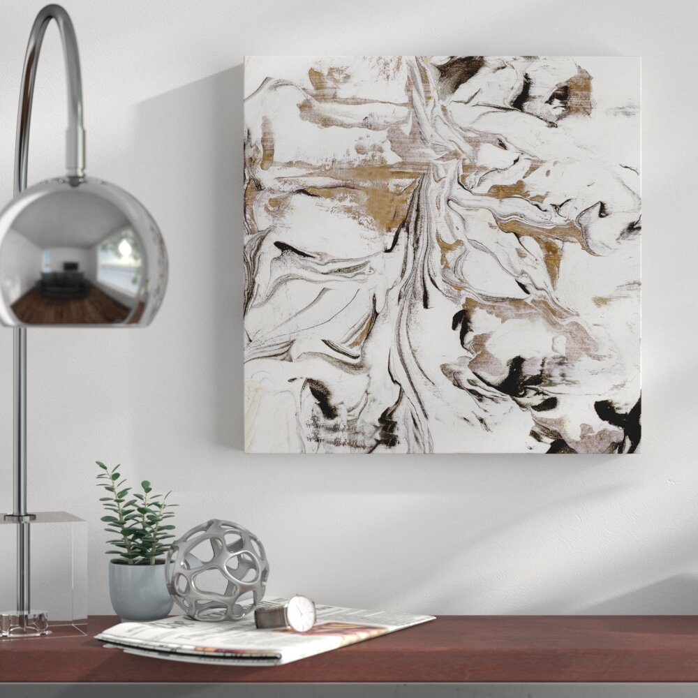 ABSTRACT  CANVAS WALL ART QUALITY PRINTS CONTEMPORARY DIGITAL  ART ONYX BROWN