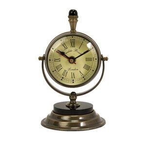 Edgar Table Clock