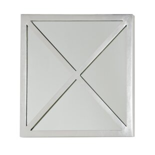 Worlds Away X Square Accent Mirror