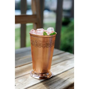 Mint Julep Juice Glass 18 oz. Copper