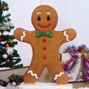 gingerbread boy figurine