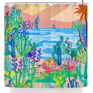 Mukta Lata Barua Wild West Single Shower Curtain