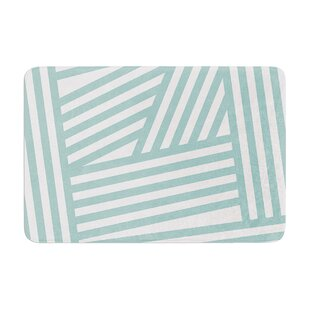 Stripes by Louise Machado Bath Mat