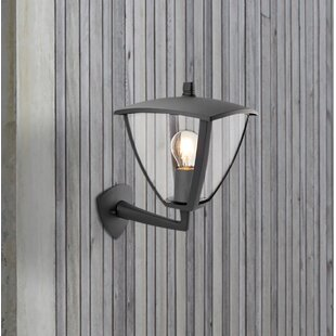 Katniss 1 Light Outdoor Wall Sconce By Marlow Home Co.